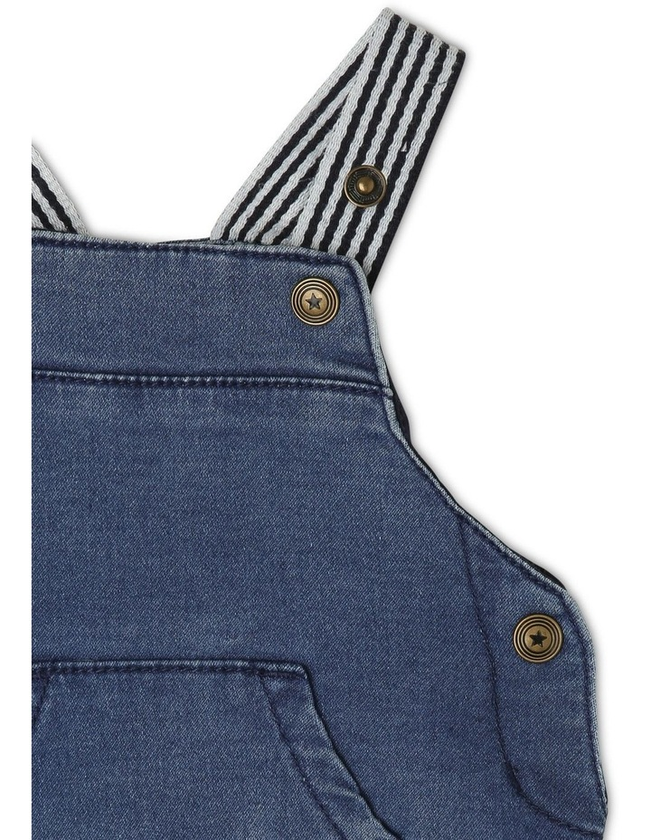 Sparky Knit Denim Overall image 3
