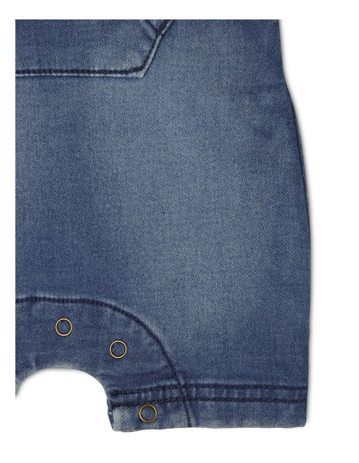 Sparky Knit Denim Overall image 4