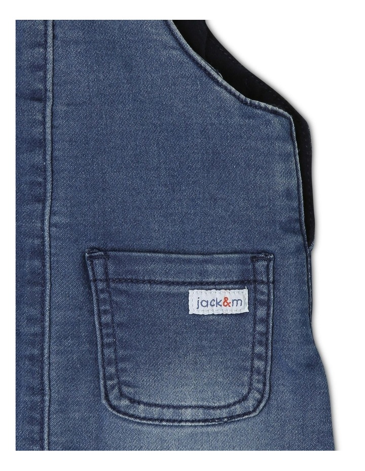 Sparky Knit Denim Overall image 5
