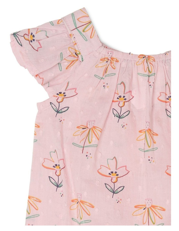 'Willow' Woven Dobby Romper image 2