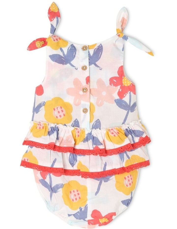 Mimi Woven Overall with Frills image 2