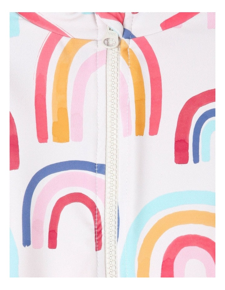 Coco Rainbow Long Sleeve Rash Vest and Brief Set image 3