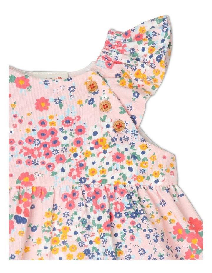 Hattie Flutter-Sleeve Knit Romper with Skirt image 3