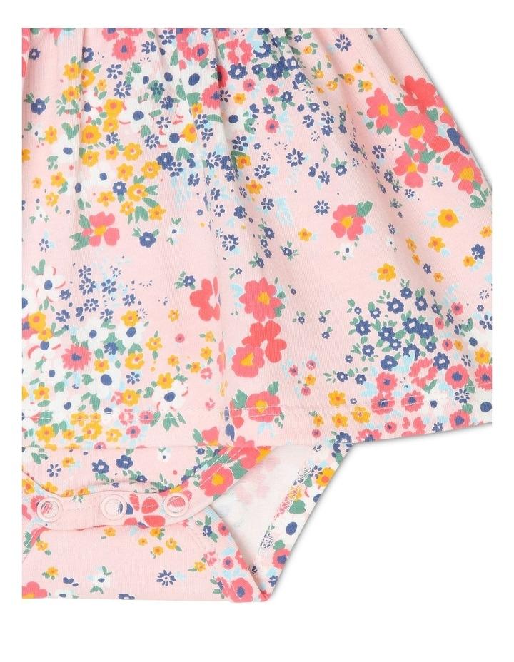 Hattie Flutter-Sleeve Knit Romper with Skirt image 4