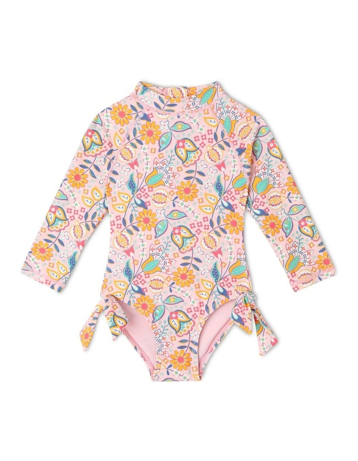 Long Sleeve One Piece with Tie Bows image 1