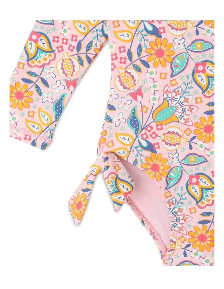Long Sleeve One Piece with Tie Bows image 2