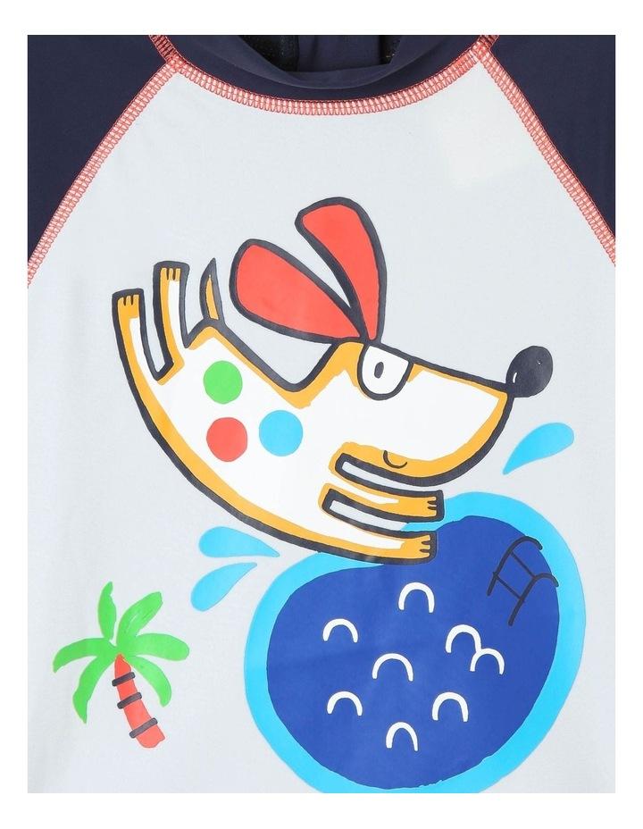 3/4 Sleeve Rash Vest and Short Set image 2
