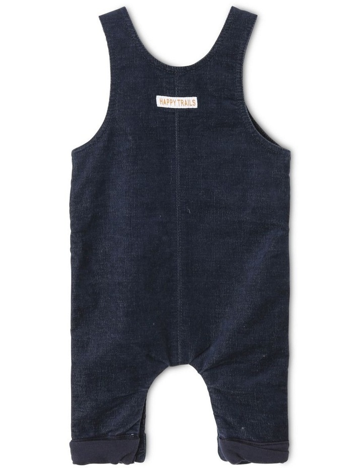 Moe Corduroy Overall with Knit Lining image 2