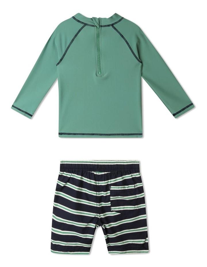 Sonny Long-Sleeve Rashvest and Shorts Set image 4