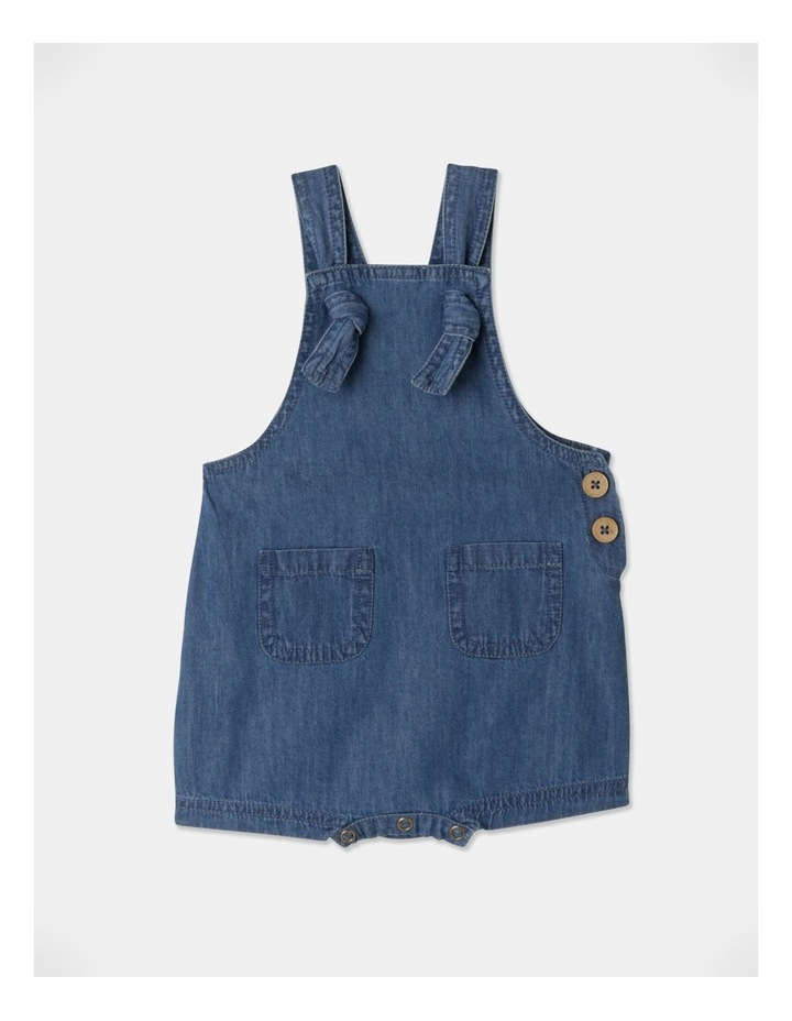 Sammy Naturals Chambray Overall image 1