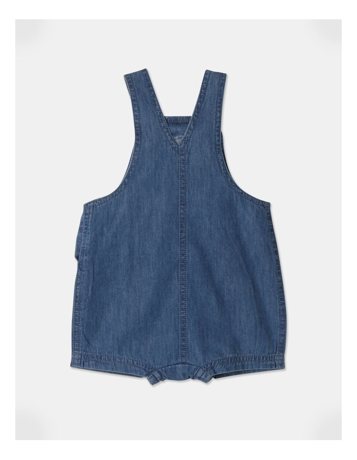 Sammy Naturals Chambray Overall image 3