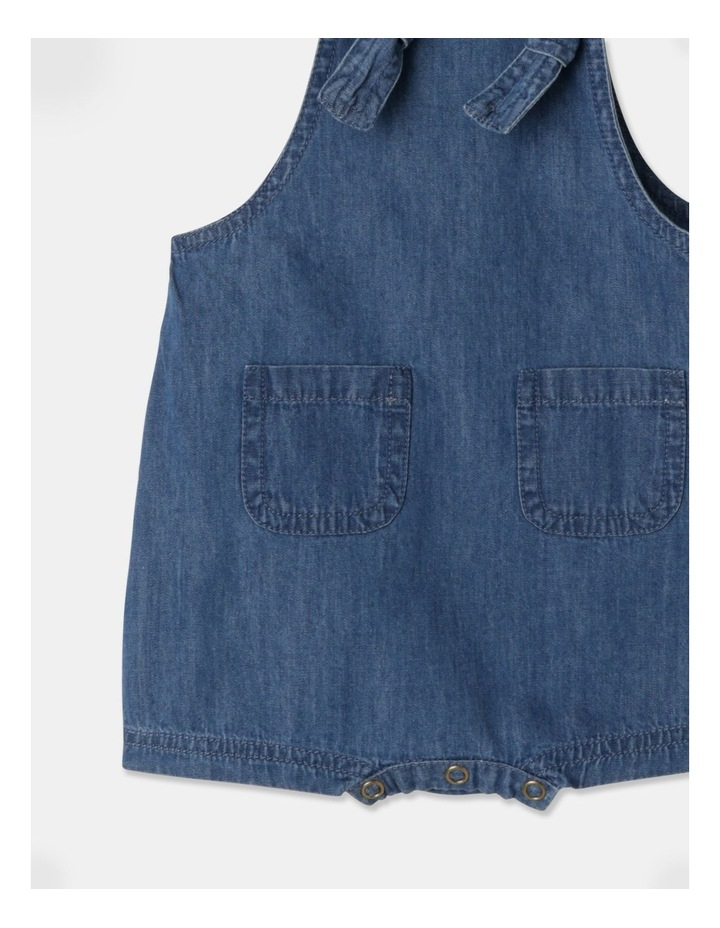 Sammy Naturals Chambray Overall image 4