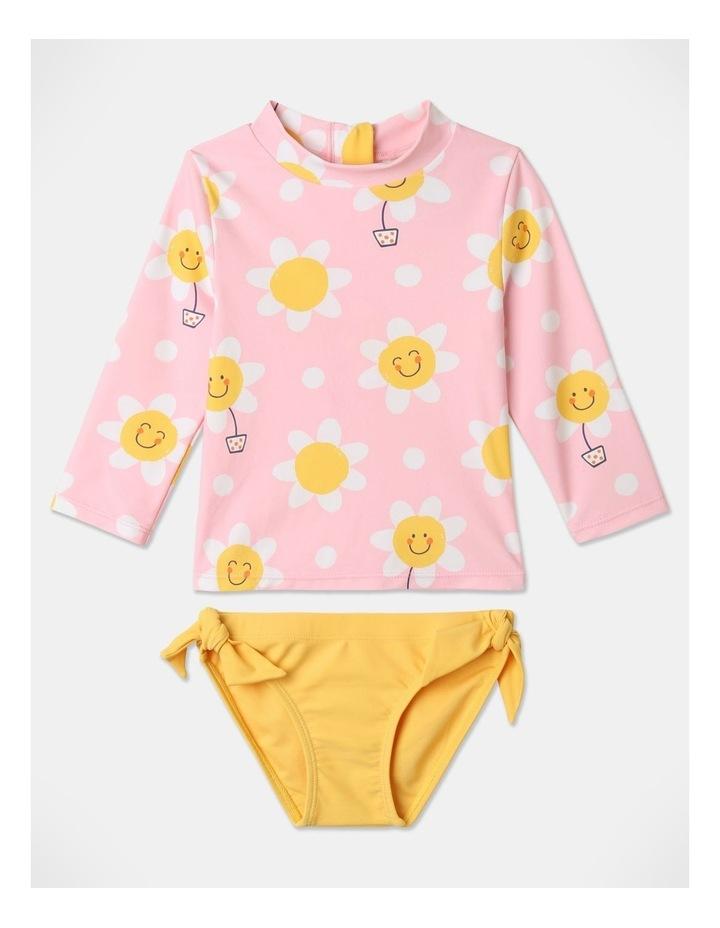 Coco Long Sleeve Rashvest Set in Light Pink image 1