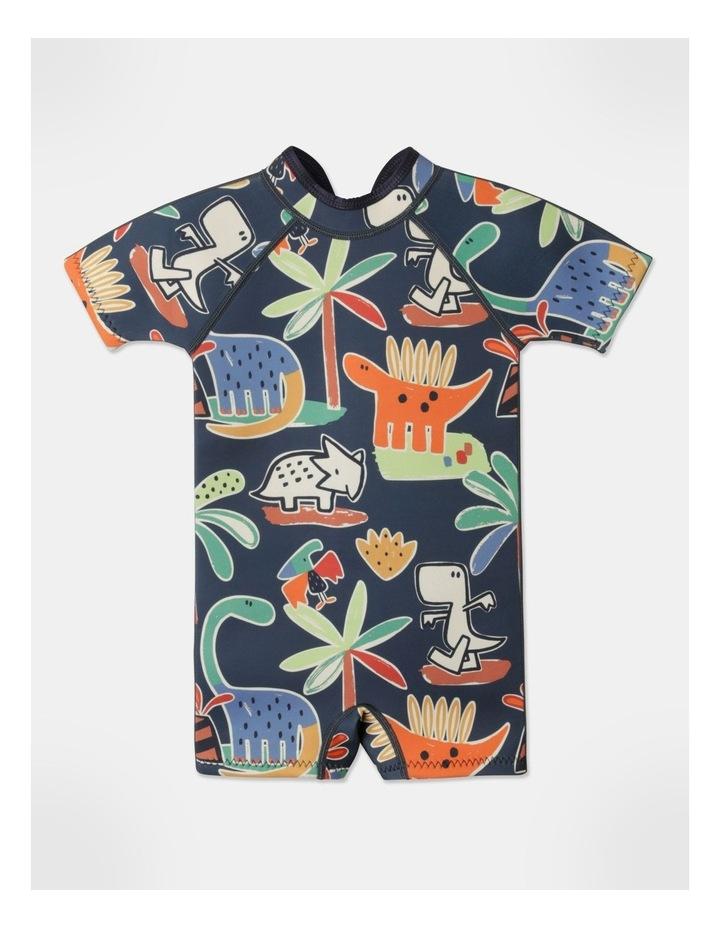 Ziggy Printed Wetsuit in Navy image 1
