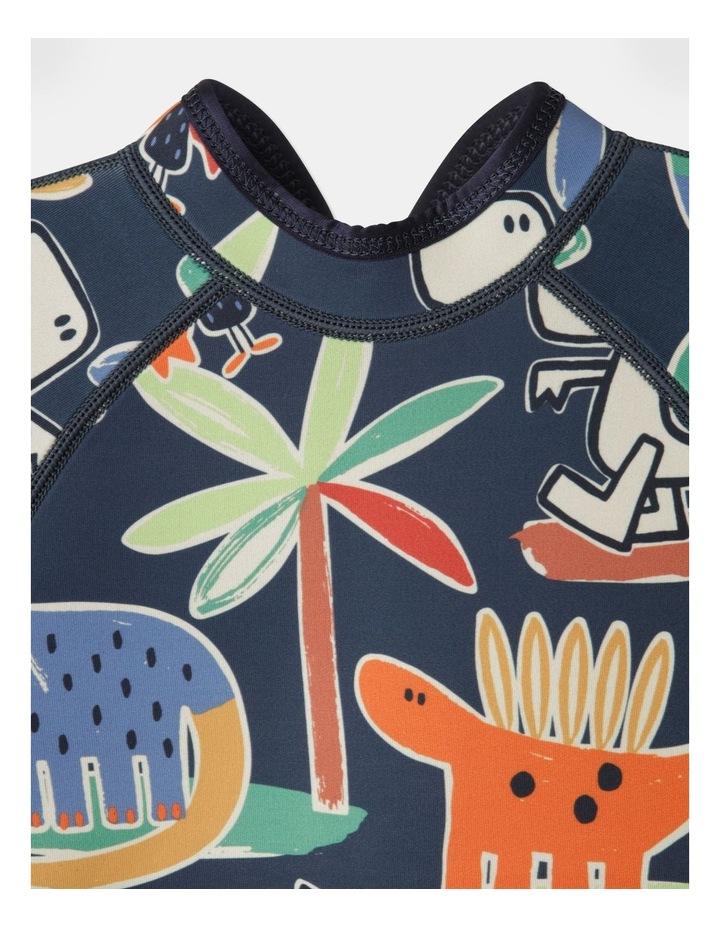 Ziggy Printed Wetsuit in Navy image 2