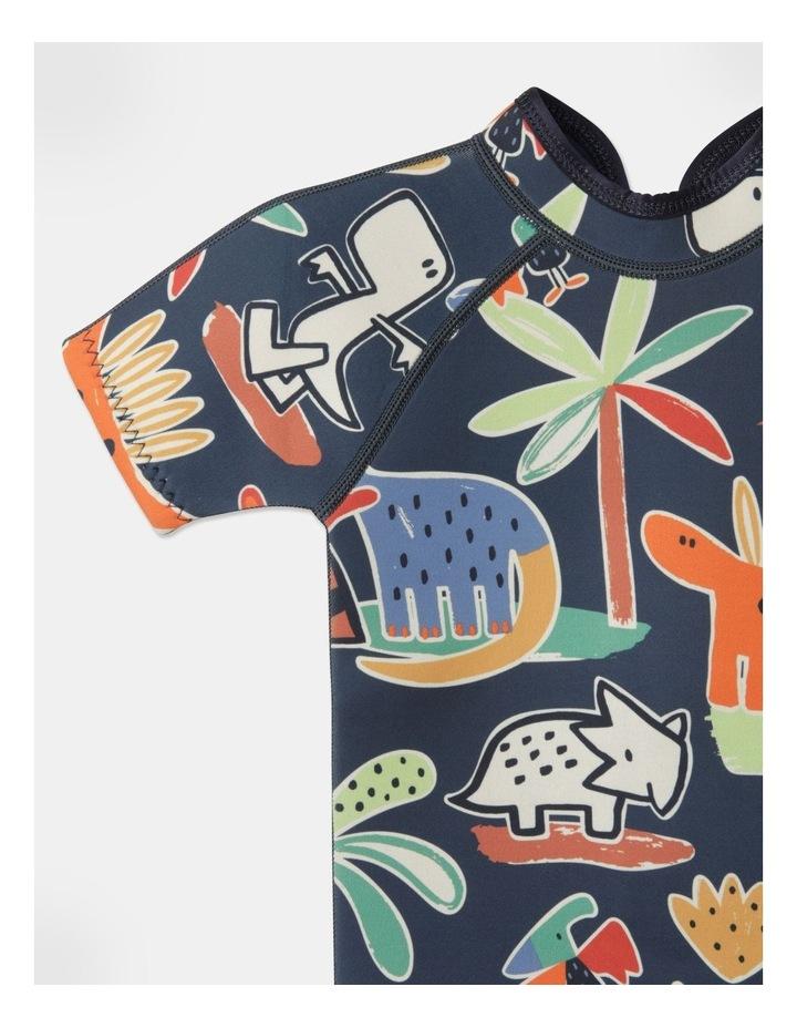 Ziggy Printed Wetsuit in Navy image 3
