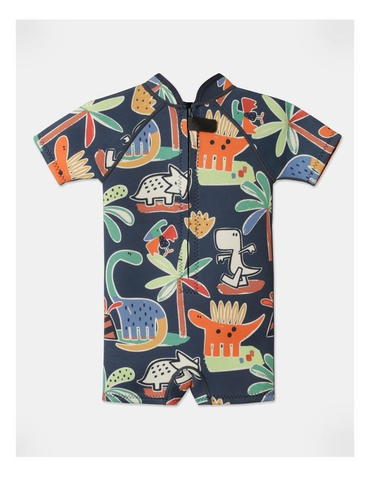 Ziggy Printed Wetsuit in Navy image 5