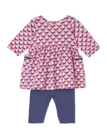 44bd7125381 Jack   Milly Dotty Dress and Leggings Set