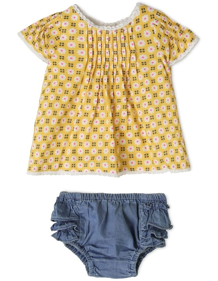 Holly Woven Top and Chambray Pant Set image 1