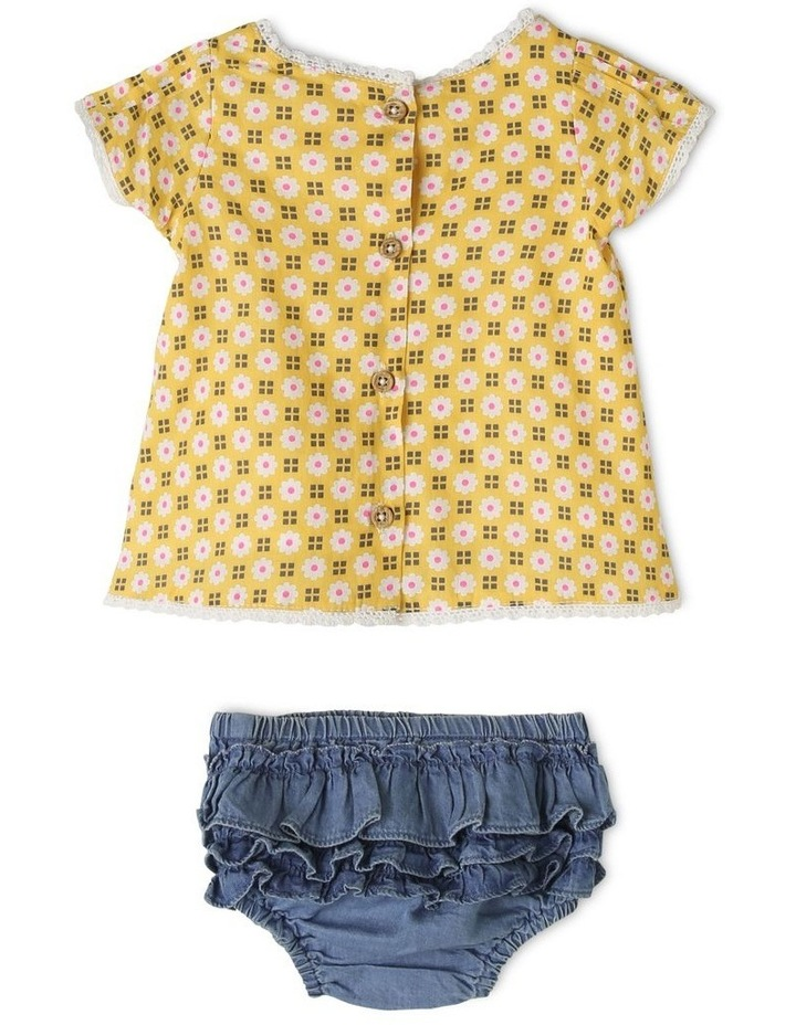 Holly Woven Top and Chambray Pant Set image 2