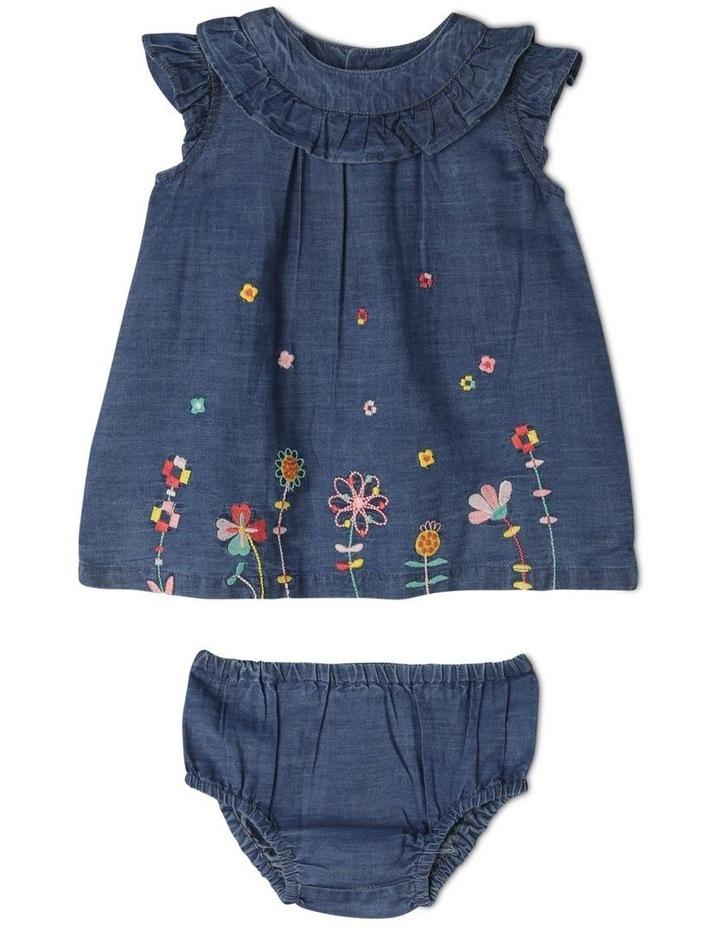 Billie Chambray Dress and Bloomer Set image 1