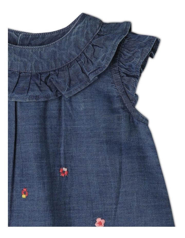 Billie Chambray Dress and Bloomer Set image 3