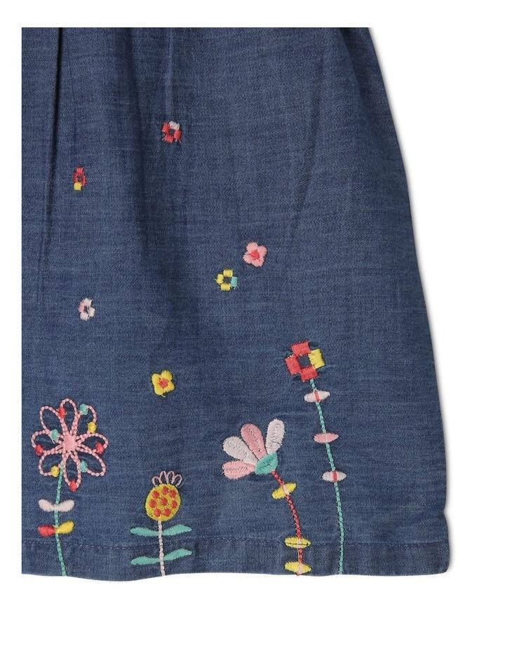 Billie Chambray Dress and Bloomer Set image 4