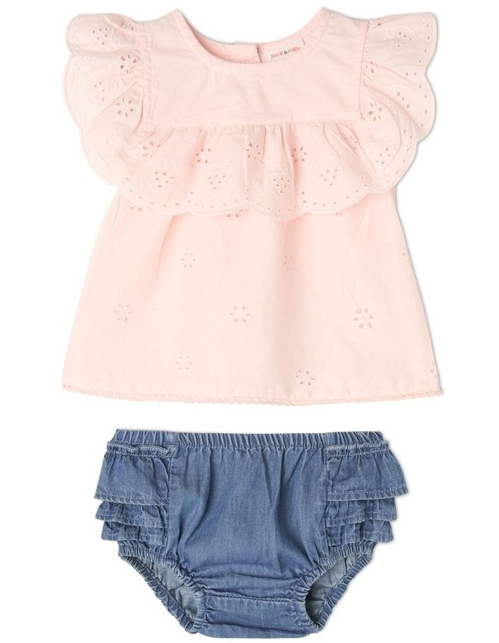 Honey Woven Top And Pant Set image 1