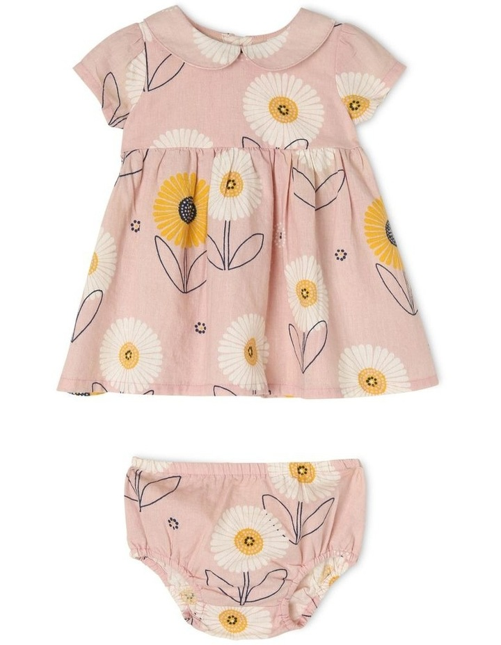 Adelaide Woven Linen Dress and Bloomer Set image 1