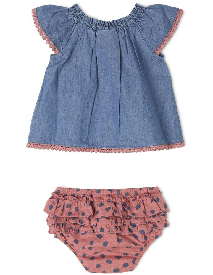 Isla Chambray Top And Pant Set image 2