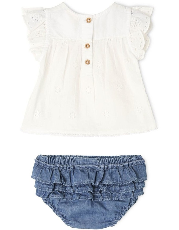 Honey Woven Top And Pant Set image 2