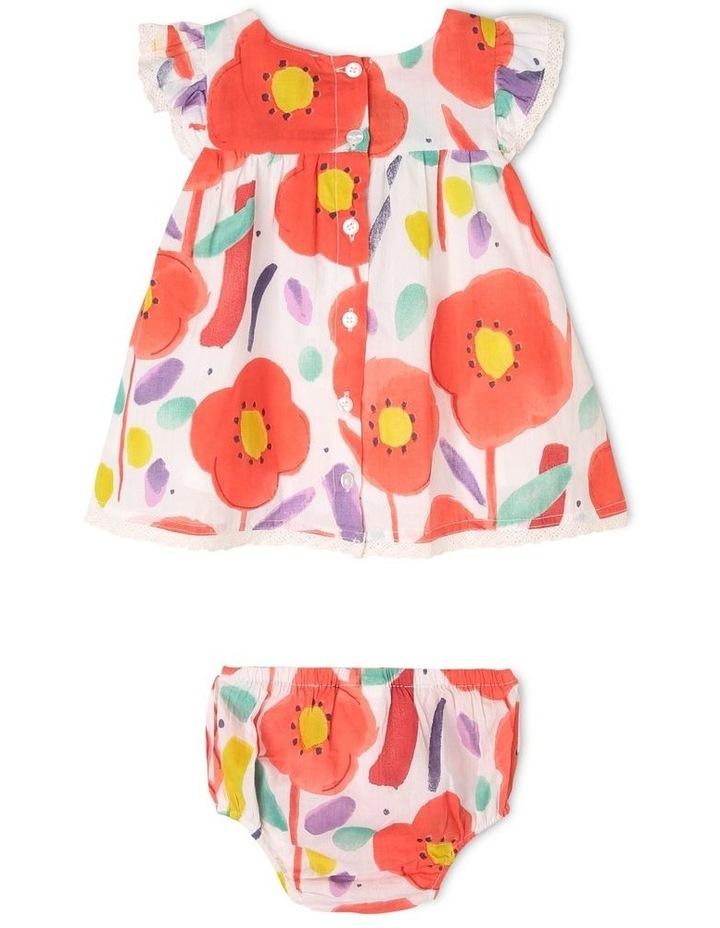 Freya Watercolour Print Dress image 2