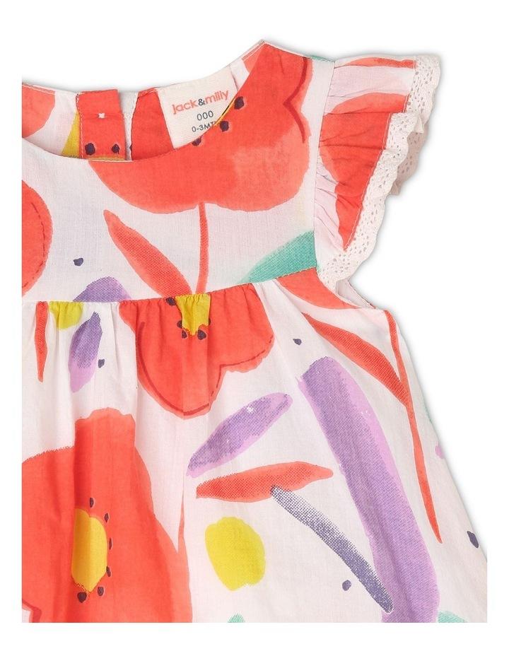 Freya Watercolour Print Dress image 3