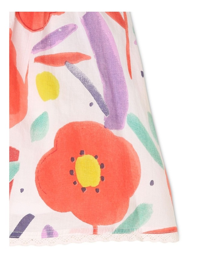 Freya Watercolour Print Dress image 4