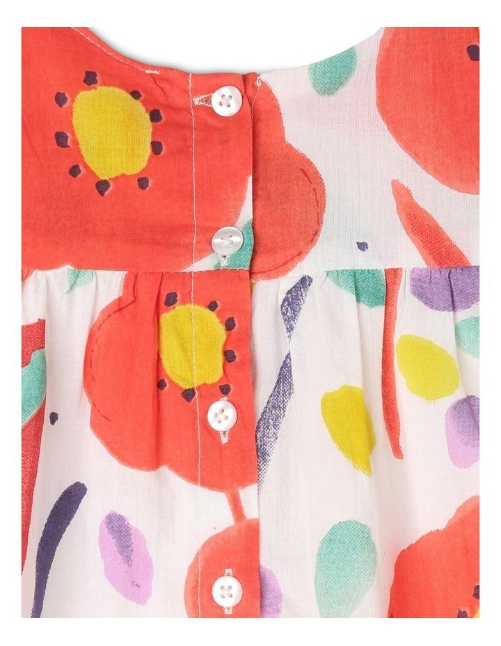 Freya Watercolour Print Dress image 5