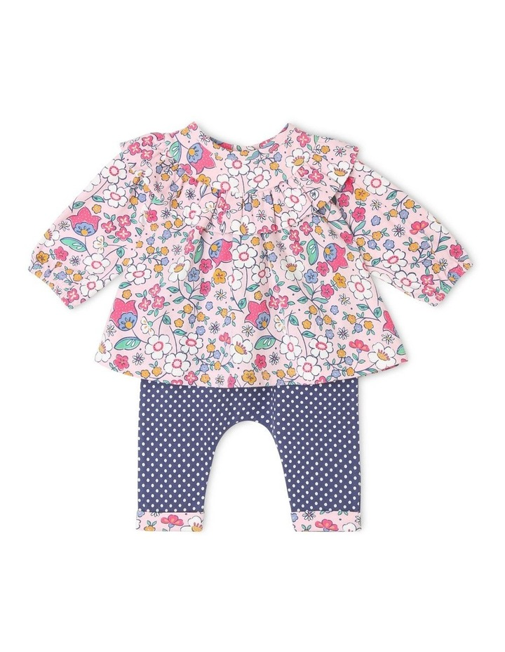 Evie Long-Sleeve Frill Top and Pant Set image 1
