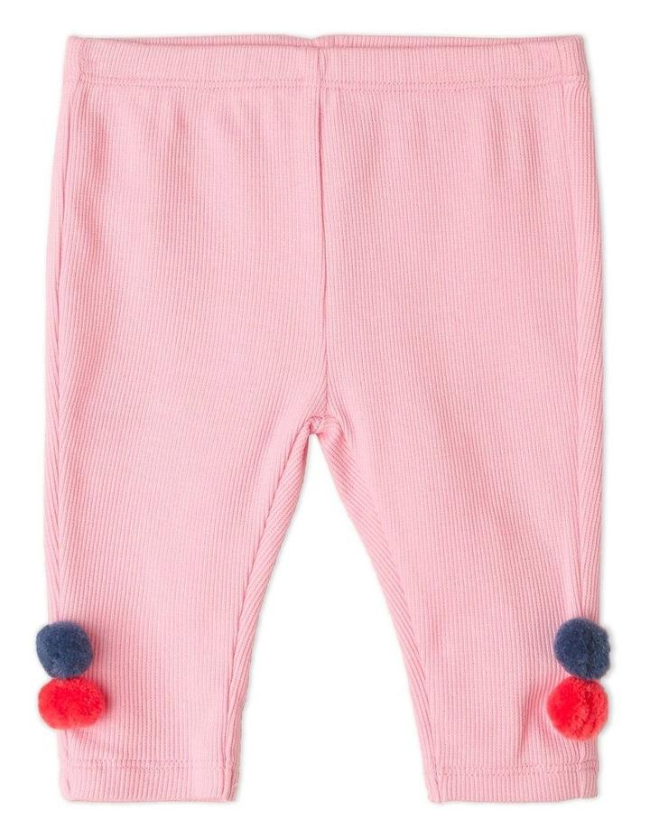 Marigold Long Sleeve Knit Top and Rib Legging Set image 3