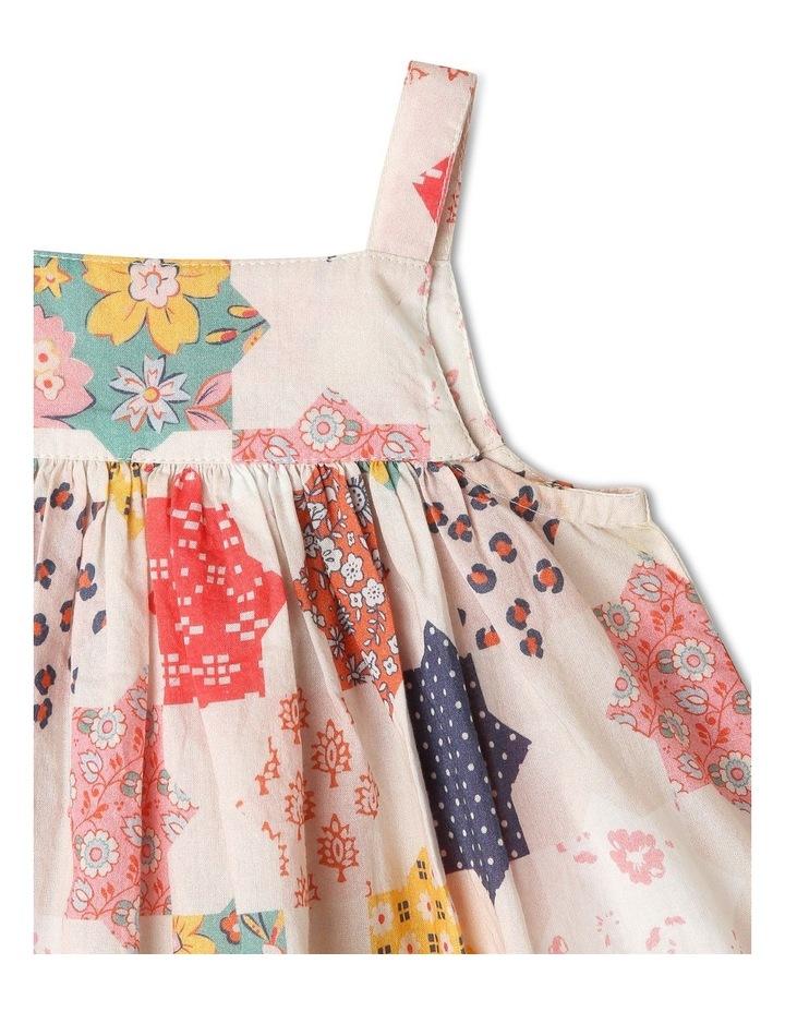Pearl Crochet Hem Dress & Pant Set image 2