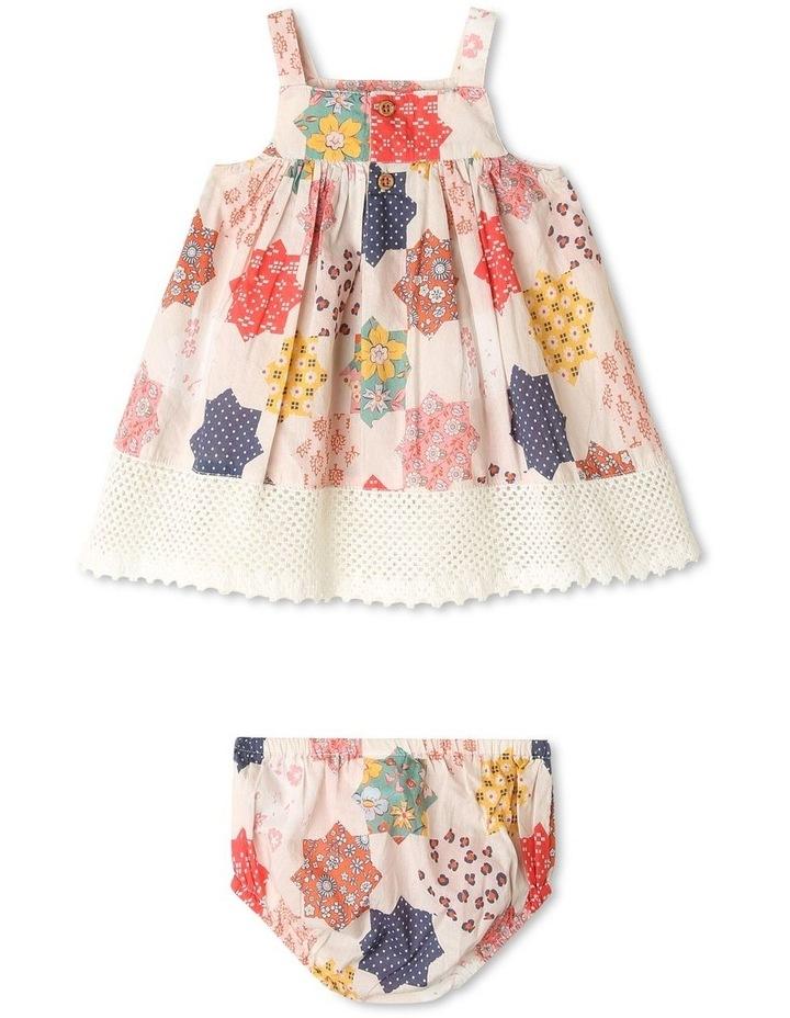 Pearl Crochet Hem Dress & Pant Set image 3