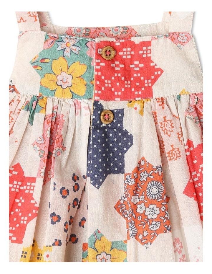 Pearl Crochet Hem Dress & Pant Set image 4