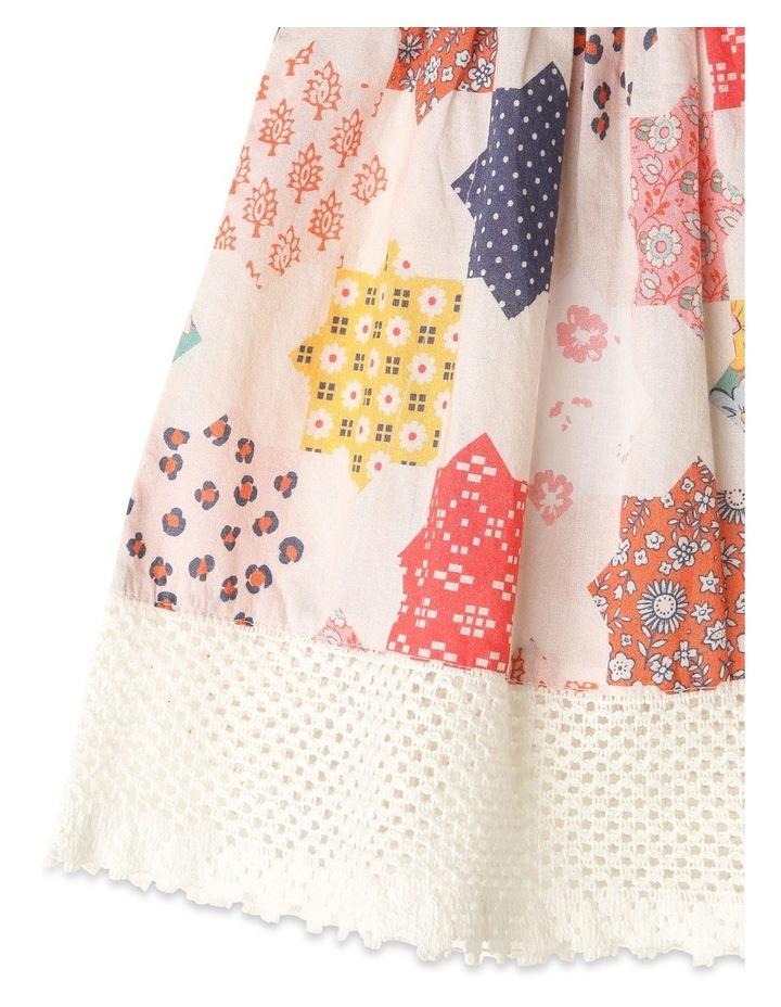 Pearl Crochet Hem Dress & Pant Set image 5