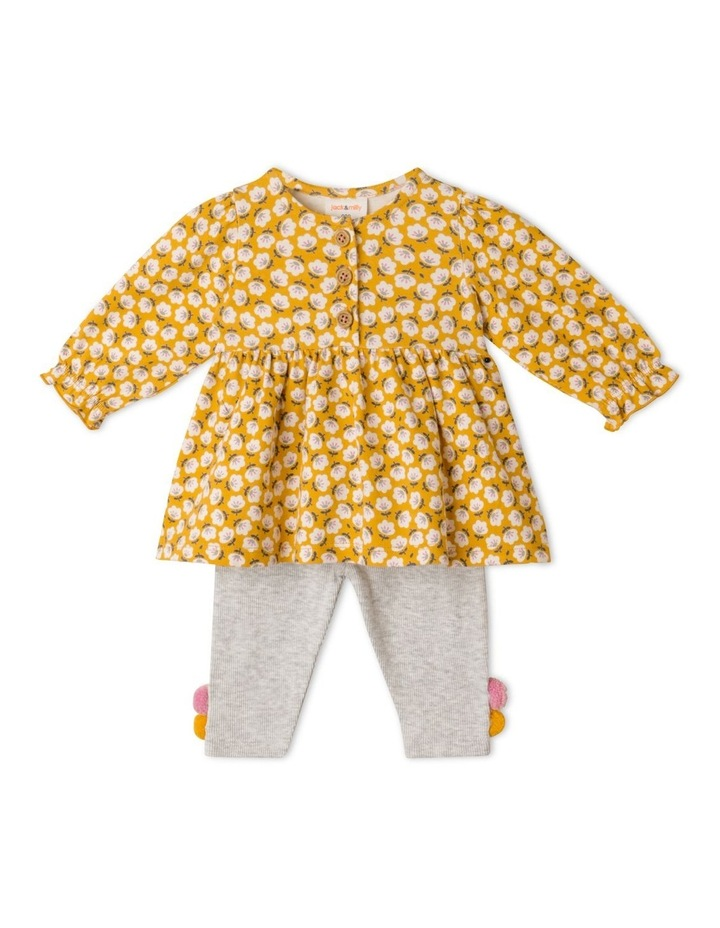 Marigold Organic Knit Top & Pant Set image 1