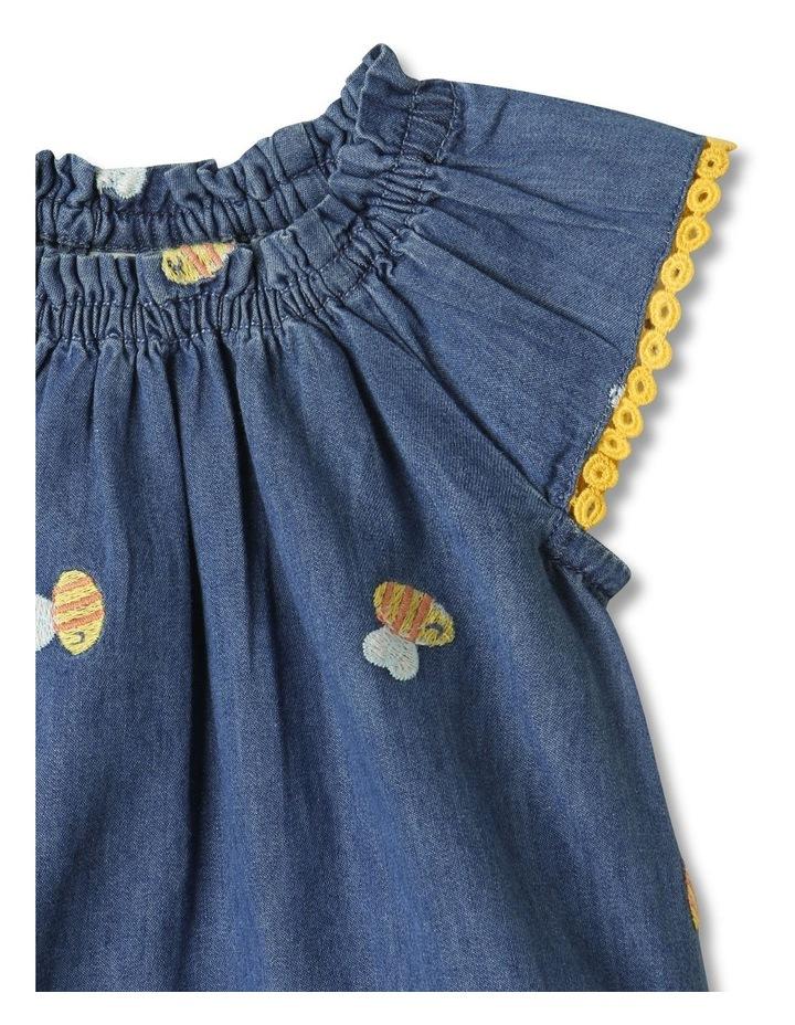 Bea Chambray Top & Pant Set in Denim image 2