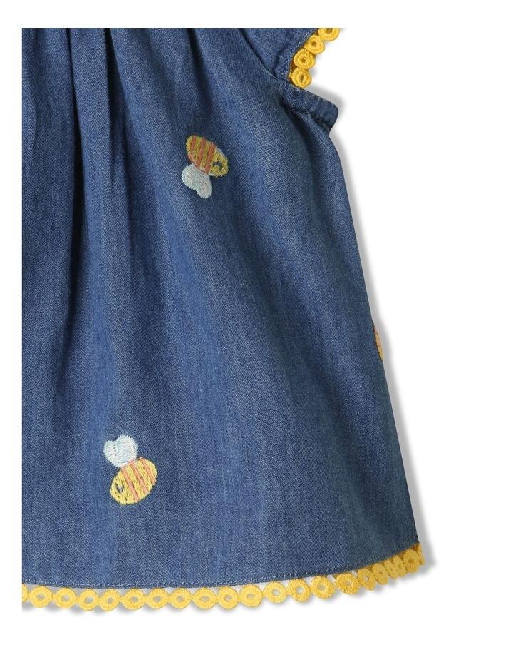 Bea Chambray Top & Pant Set in Denim image 3
