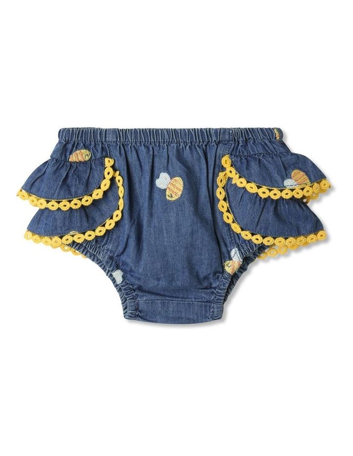 Bea Chambray Top & Pant Set in Denim image 5