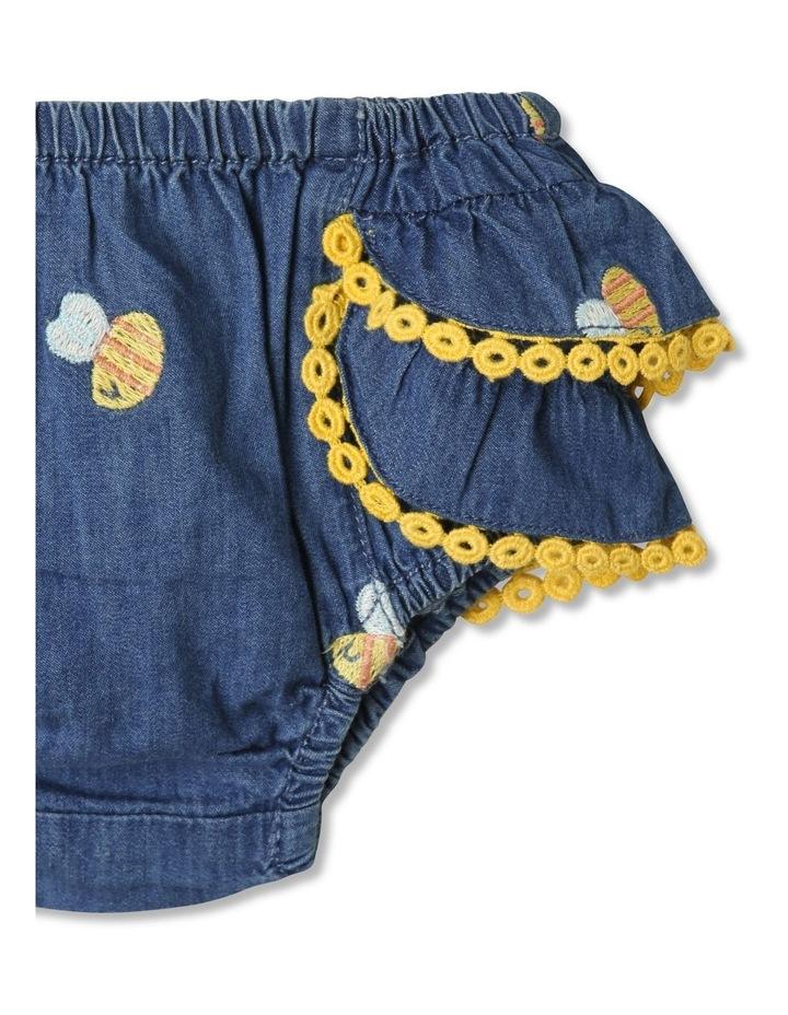 Bea Chambray Top & Pant Set in Denim image 6