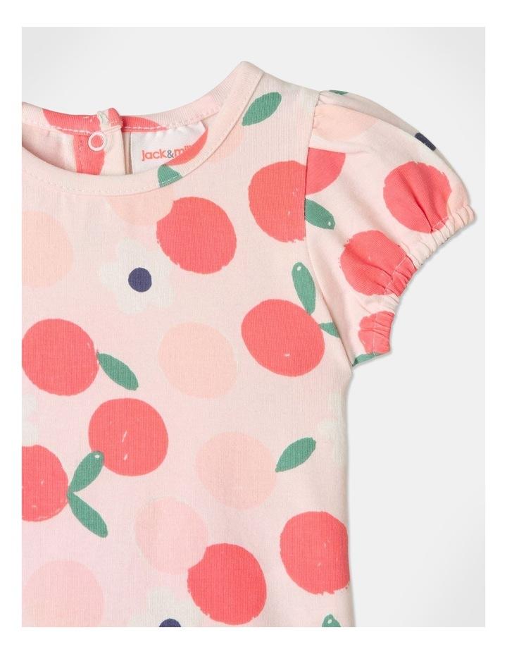Pearl Puff Sleeve Top & Chambray Skirt Set image 2