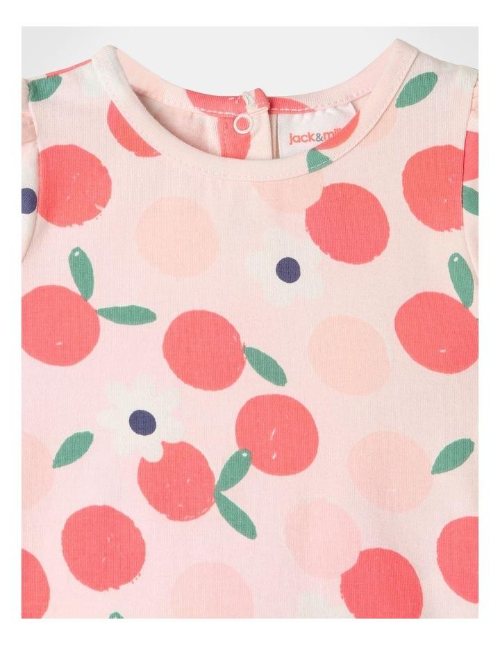 Pearl Puff Sleeve Top & Chambray Skirt Set image 3