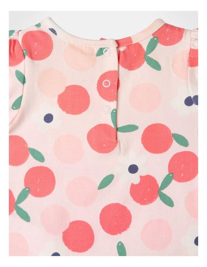Pearl Puff Sleeve Top & Chambray Skirt Set image 5