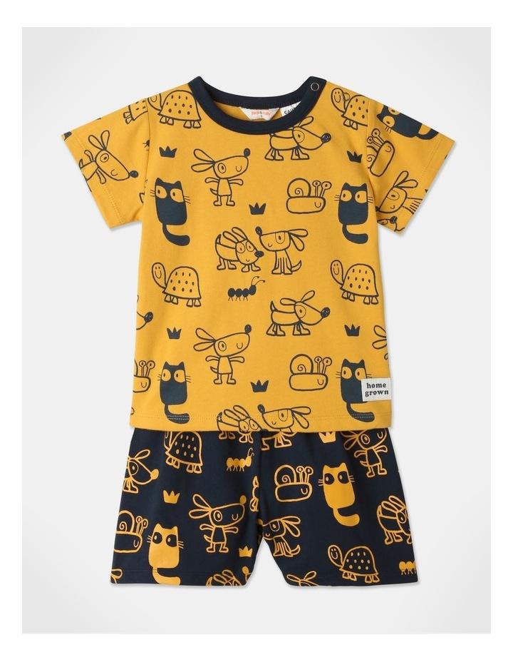 Ollie Pyjamas Set Mustard image 1